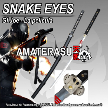 Katana Snake Eyes Gi Joe
