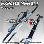 Espada de plata Geralt de Rivia The Witcher 3