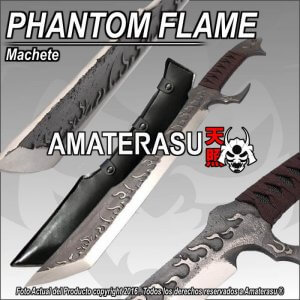 Machete Phantom Flame
