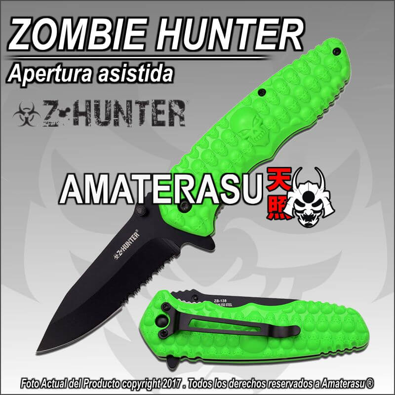Navaja Green Skull Z-Hunter