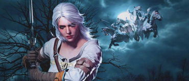 La espada de Ciri de Cintra – The Witcher – Amaterasu